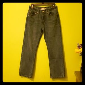 Levi's Straight Leg Blue Jeans